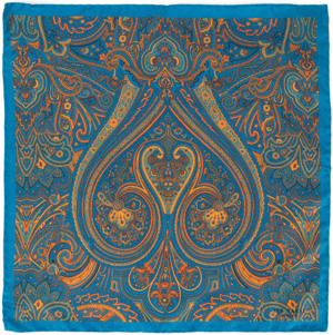 Ted Baker Yearone Paisley print pocket square: £25.
