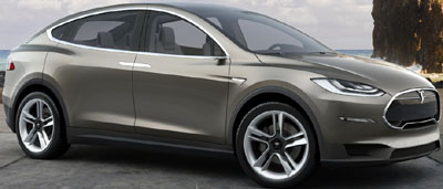Tesla Model X (2014).