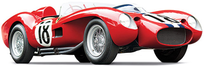 World's most expensive Ferrari: US$16,390,000 - 1957 Ferrari 250 Testa Rossa.