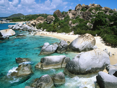 The Baths, Virgin Gorda, British Virgin Islands.