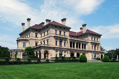 The largest of the Preservation Society's mansions: The Breakers, 44 Ochre Point Avenue, Newport, RI 02840, U.S.A.