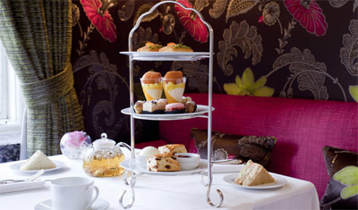 Afternoon Tea at The Capital hotel, 22-24 Basil St, Knightsbridge, London SW3 1AT, England, U.K.