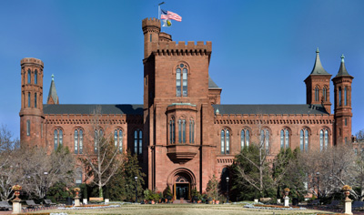 Smithsonian Institution (The Smithsonian Castle, the Institution's first building and still its headquarters), 1000 Jefferson Dr SW, Washington, DC 20004.