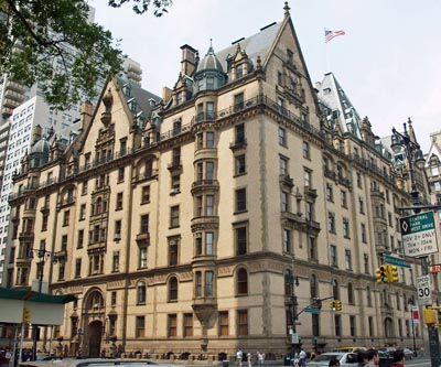 The Dakota building, 1 West 72nd St, New York City, NY 10023, U.S.A.