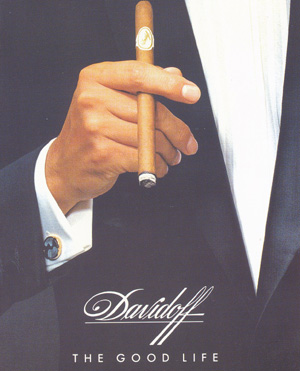 'The Good Life' with Davidoff cigars.