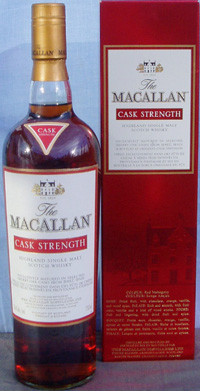 The Macallan Cask Strength.