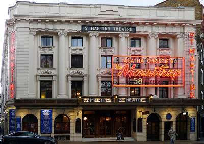 The Mousetrap at St. Martin's Theatre, London, U.K.