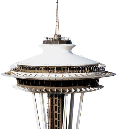 The Space Needle, 400 Broad Street, Seattle, Washington, U.S.A.