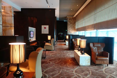 The Private Room, Singapore Airlines, Terminal 3, Singapore Changi Airport.