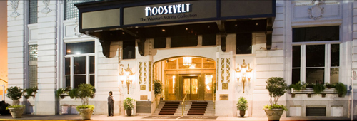 The Roosevelt, 130 Roosevelt Way, New Orleans, LA 70119.