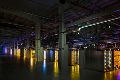 The First-Ever Glimpse Inside Google's Data Centers - Where the Internet Lives.