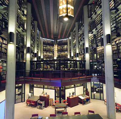 Thomas Fisher Rare Book Library in the University of Toronto.