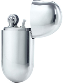 Tiffany & Co. Elsa Peretti Bean Sterling silver Lighter: US$350.
