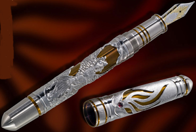 Grayson Tighe Phoenix fountain pen.