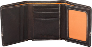 Timberland Earthkeepers Shelburne Tri-Fold Leather Wallet: US$62.