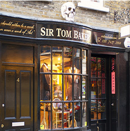 Sir Tom Baker, 4 D'Arblay Street, Soho.