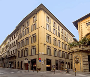 Via de' Tornabuoni - best place to shop in Florence.