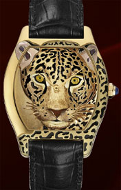 Tortue Watch, Cartier d'Art Collection.