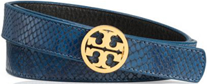 Tory Burch edye Reversible Snake Print Belt: £175.