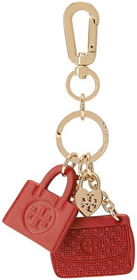 Tory Burch mini Leather Bag Key Fob: €60.