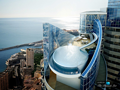 Tour Odéon Tower Penthouse apartment, Avenue de l'Annonciade, MC-98000 Monte-Carlo, Principality of Monaco.
