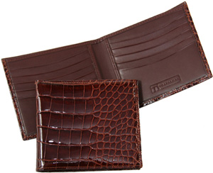 TrafalgarStore Alligator Hipster Wallet: US$550.
