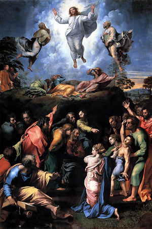 The Transfiguration (1516-1520) is the last painting by the Italian High Renaissance master Raphael.