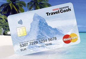 Swiss Bankers Travel Cash Card.