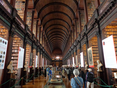 Trinity College Library, College Street, Dublin 2, Ireland.
