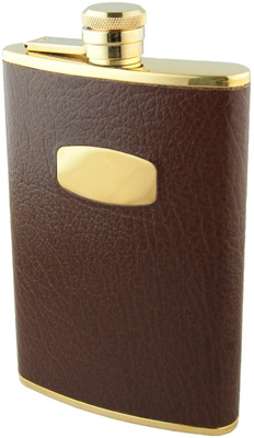 Geo F. Trumper, 8oz Flask, Burgundy (with Name Plate): £57.50.