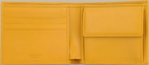 Trussardi Rectangular calf leather men's wallet: US$155.