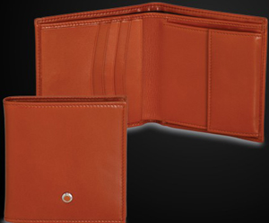 Underwood Small Wallet with Coin Purse and 4 standard credit card pockets.