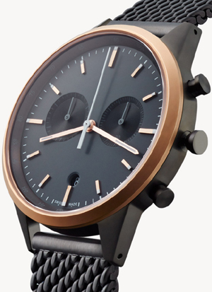 Uniform Wares C-Line C41 PVD Rose Gold watch: €1,180.