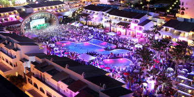 The Ushuaïa Club at Ushuaïa Beach Hotel, Playa d'en Bossa 10, 07817 Sant Jordi de Ses Salines.
