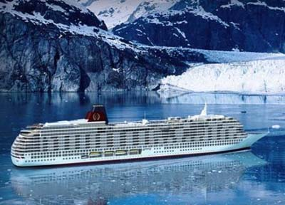 Luxury residential ocean liner Utopia.