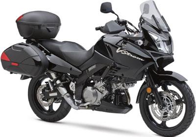 Suzuki V-Strom 1000 Adventure motorcycle.