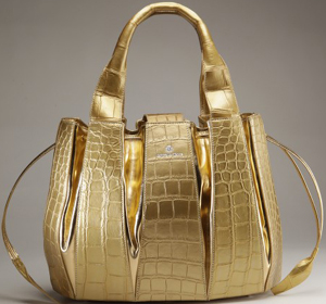 Domenico Vacca Genuine Alligator Julie Handbag: US$12,500.