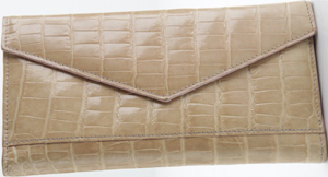 Domenico Vacca Genuine Alligator Women's Wallet: US$1,450.