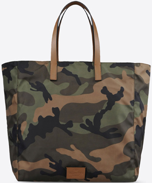 Valentino Garavani Camouflage shopping bag in nylon: US$1,245.