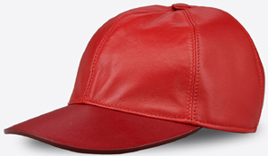 Valentino Garavani Rouge Absolute Signature customizable baseball cap: US$545.