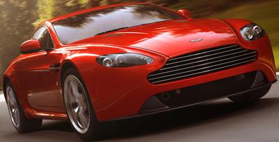 Aston Martin V8 Vantage Coupé.