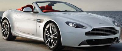 Aston Martin V8 Roadster.