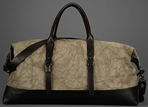 John Varvatos Men's Techno Linen Bag: US$1,495.