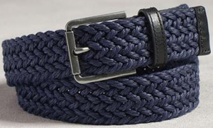 John Varvatos Webbed Men's Belt: US$225.