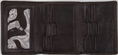 John Varvatos Leather Trifold Wallet: US$195.