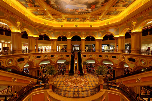 The Venetian Macao-Resort-Hotel.