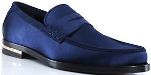 Versace Satin Loafer: £495.
