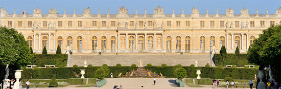 Palace of Versailles.