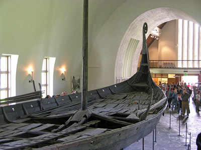 Viking Ship Museum, Oslo, Norway.
