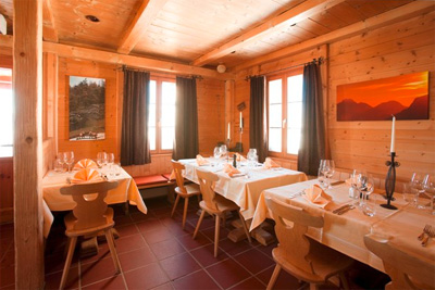 Restaurant at Villa Lyss, CH-7503 Samedan.
